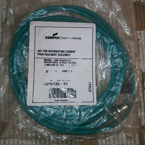 NEW COOPER CROUSE-HINDS 5000135-97 MICRO-LINE ASSEMBLY
