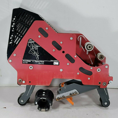 USED 3M 10800 ACCUGLIDE 3 TAPING HEAD w/ ROLL HOLDER