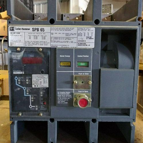 USED CUTLER-HAMMER SPB65 SPBSR316C CIRCUIT BREAKER 1600AMP