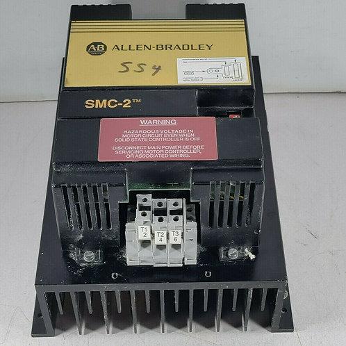 USED ALLEN BRADLEY SMC-2 MOTOR CONTROLLER 54A SER. A