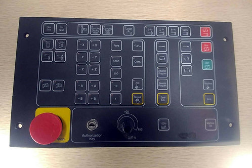 NEW INDRAMAT BTM 1.01/00 CONTROL PANEL W/ EMERGENCY STOP