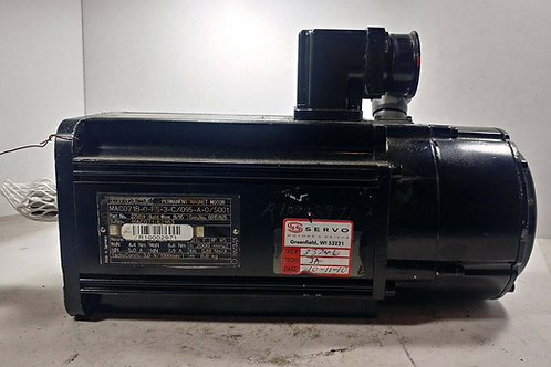 REFURBISHED INDRAMAT MAC071B-0-FS-3-C/095-A-0/S001 SERVO MOTOR IP65