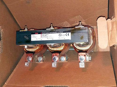 NEW TCI KLRUL110APT LINE REACTOR 3 PHASE 110 AMP