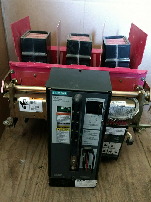 USED SIEMENS RLE-800 LOW VOLT AC POWER CIRCUIT BREAKER, 800A