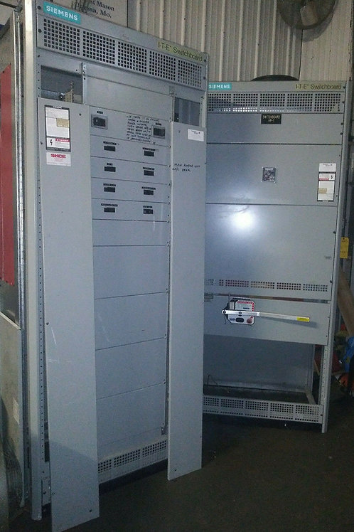 USED SIEMENS FCI SER 6 ITE SWITCHBOARD SET 480Y/277VAC 3P 4WIRE