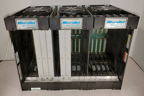 USED WOODWARD 5253-278 MICRONET CHASSIS RACK REV. NEW