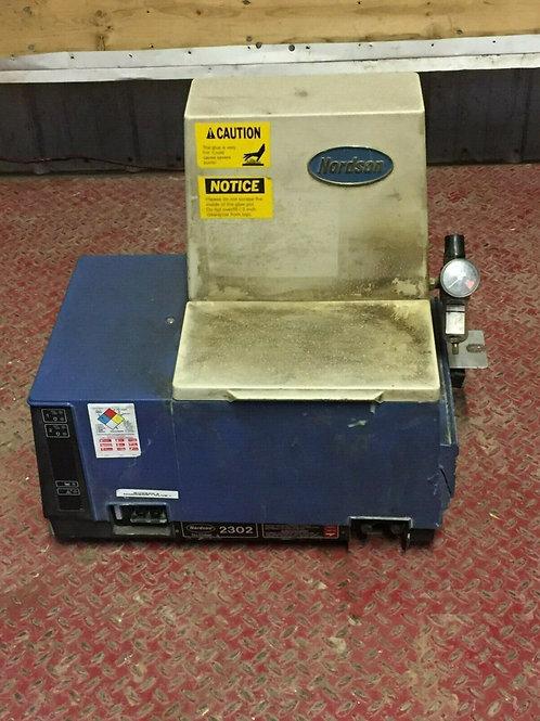 USED NORDSON 2302 HOT GLUE GUN DISPENSER 200-230 VOLT