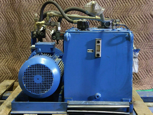USED LAWECO 01-0873-01-02 HYDRAULIC POWER PACK