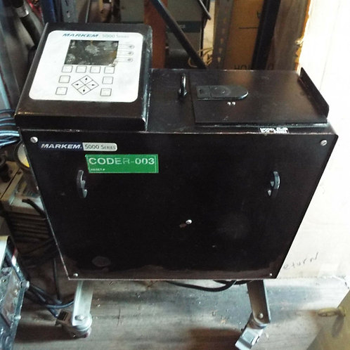 USED MARKEM 5400 TOUCH DRY INK JET PRINTER 5000 SERIES