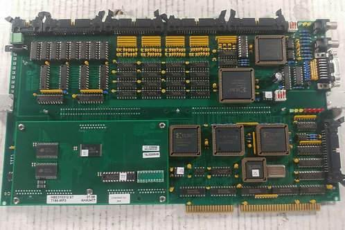 USED HEUFT HBE010200MI MULTI I/O CARD w/ HBE010312ST CPU3 PC BOARD COMBO