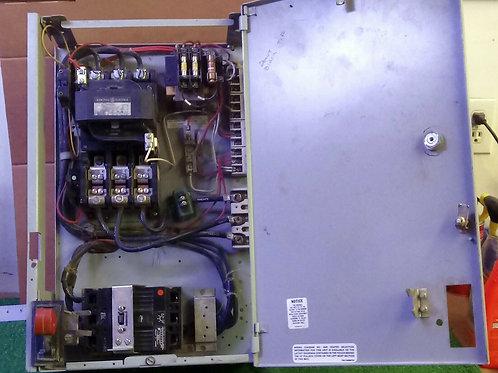USED GE LINE 8000 100AMP BREAKER SIZE 3 MOTOR CONTROL BUCKET