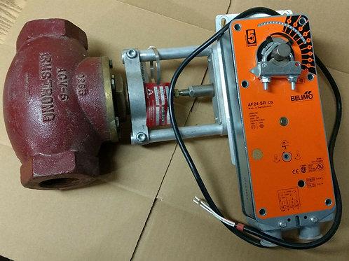 NEW ARMSTRONG ACV-6 BLEM (BELIMO AF24-SR US) CONTROL VALVE