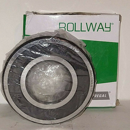 NEW ROLLWAY 6311 2RS EMQ RUBBER SEALED BALL BEARING