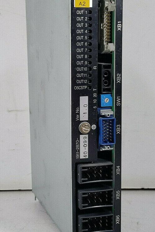 USED OKUMA 1911-2870-40-099 PC CONTROL MODULE FUB-DR3 VER. 1.0