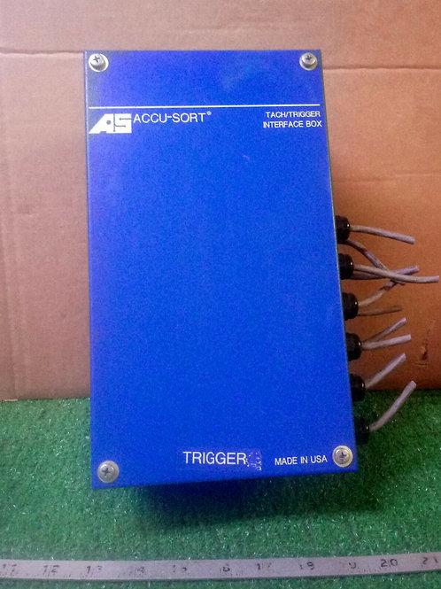 USED ACCU-SORT TACH/TRIGGER INTERFACE BOX