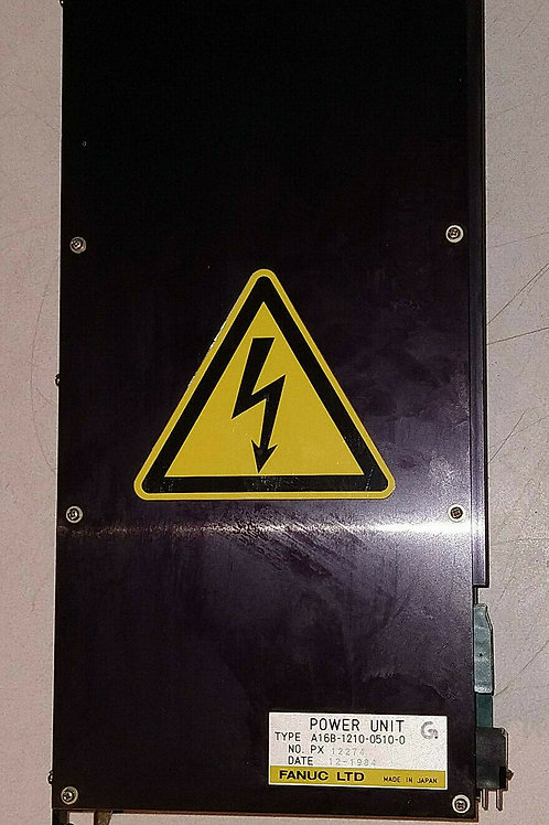 USED FANUC A16B-1210-0510-0 CONTROL POWER SUPPLY UNIT