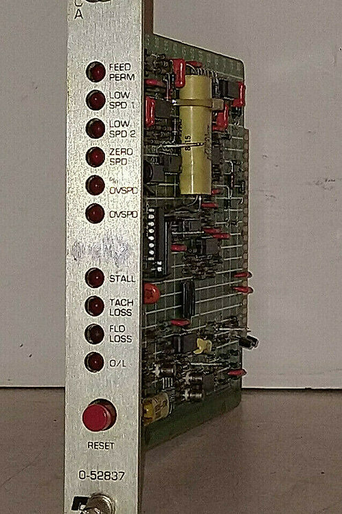 USED RELIANCE ELECTRIC 052837 ACCA RELAY CARD MODULE