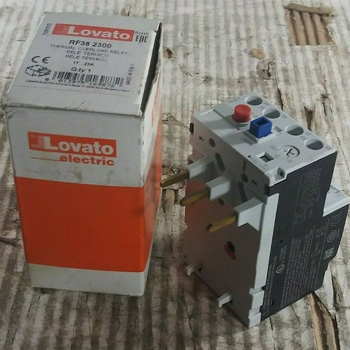 NEW LOVATO RF382300 THERMAL OVERLOAD RELAY