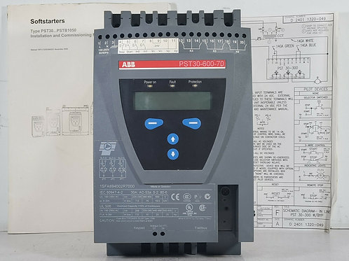 USED ABB PST30-600-70 SOFT STARTER 30A