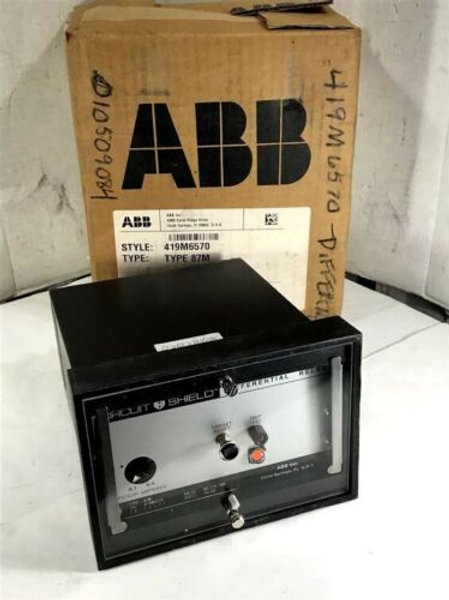 NEW ABB 419M6570 CIRCUIT SHIELD DIFFERENTIAL RELAY