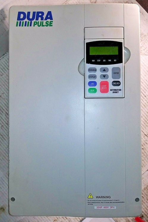 USED AUTOMATION DIRECT GS3-4020 A/C DRIVE 3PH 32A 20HP