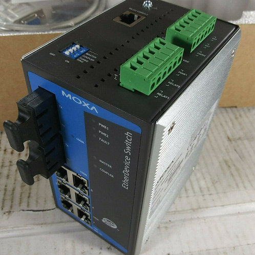 NEW MOXA EDS-508A-MM-SC ETHERNET SWITCH