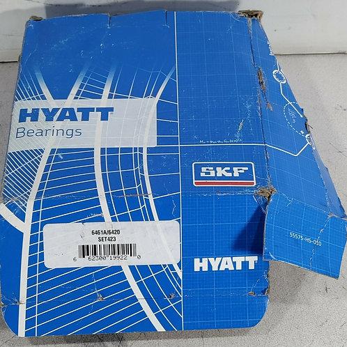 NEW HYATT SET 423 TAPERED ROLLER BEARING SET