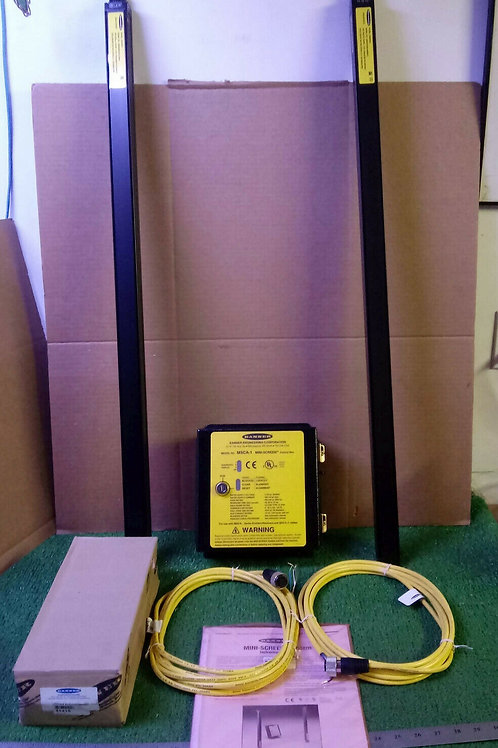 "NEW BANNER MSKA3624C1 36"" MINI SCREEN LIGHT CURTAIN KIT"