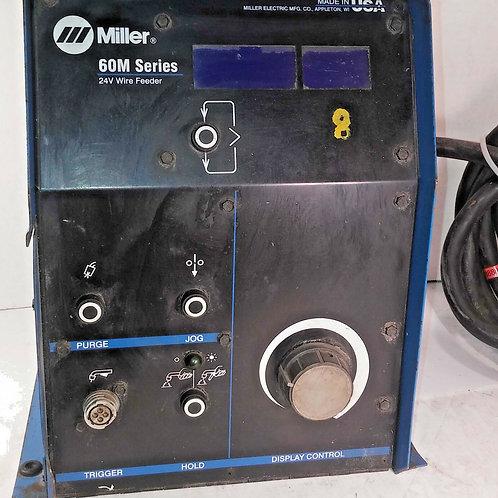 USED MILLER S-64M WIRE FEEDER 24V