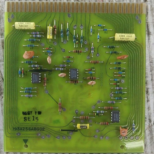 NEW GENERAL ELECTRIC 193X256ABG02 AMPLIFIER CARD