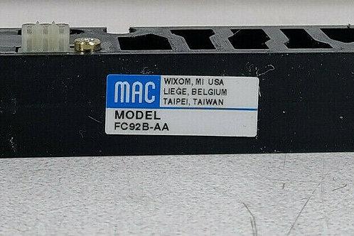 USED MAC FC92B-AA VALVE BLOCK REGULATOR