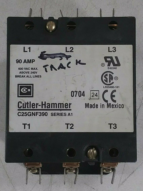 USED CUTLER-HAMMER C25GNF390 CONTACTOR SER. A1