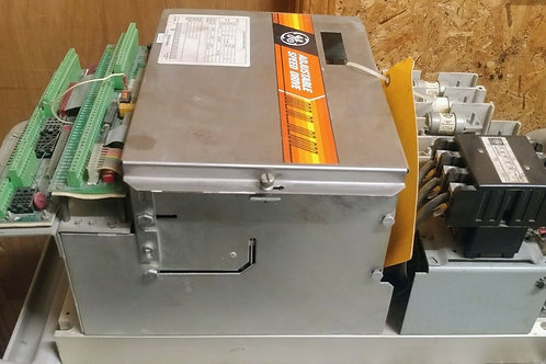 USED GENERAL ELECTRIC 7VOED071CD01 DC DRIVE 75HP 460V PARTS ONLY