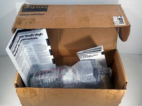 NEW DAYTON 6ML53 DC GEARMOTOR 1/4 HP 83 RPM