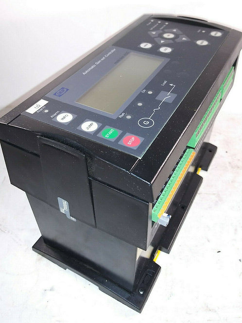 USED DEIF AGC 3X 4198000234E AUTOMATIC GENSET CONTROLLER