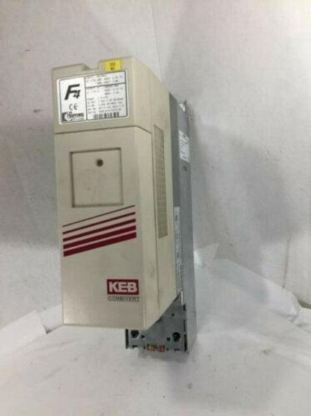 USED KEB 4-008-39-0553 COMBIVERT DRIVE 3 PH, 6.6 KVA VER. 14
