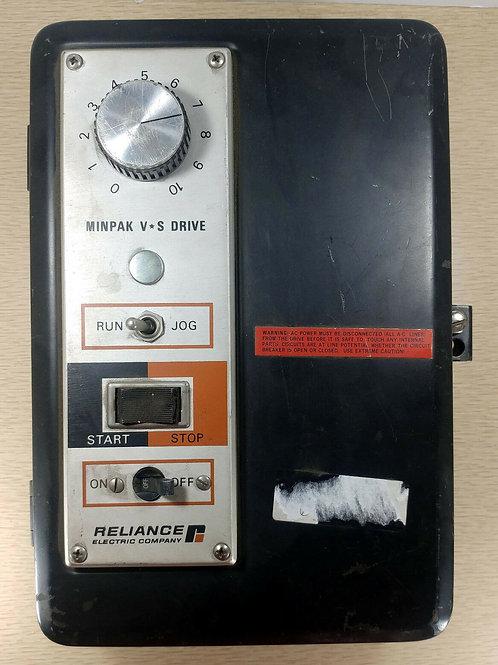 USED RELIANCE 11C59S MINIPAK V-S DRIVE 3HP