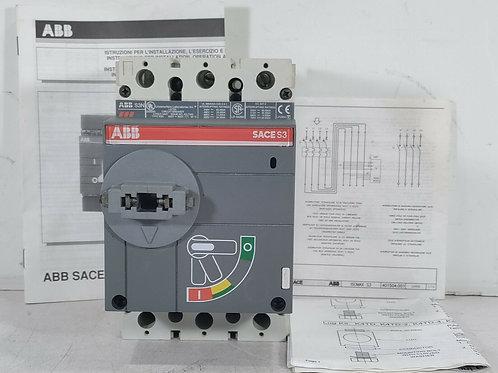 USED ABB S3N SACE CIRCUIT BREAKER 40A 600V