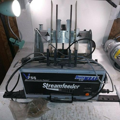 USED STREAMFEEDER V755 FRICTION FEEDER *WORKING