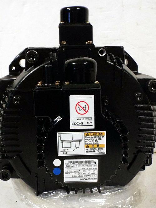 NEW YASKAWA MOTOMAN SGMDH-22A2A-YR13 SERVO MOTOR W/ UTSAE-B17BBF ENCODER