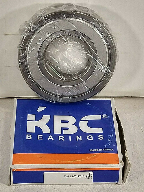 NEW KBC 6311-B-2Z-L038-HLJ C3 STEEL SHIELDED BALL BEARING