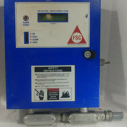 USED FIRE SENTRY FS SYSTEM 10 FIRE DETECTION/PROCESS CONTROL SYSTEM