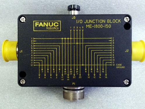 NEW FANUC ROBOTICS ME-1800-150 I/O JUNCTION BLOCK