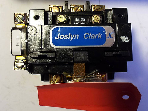 1 New Joslyn Clark 5000A3001-11 Contactor 3ph, 200v, Size 0
