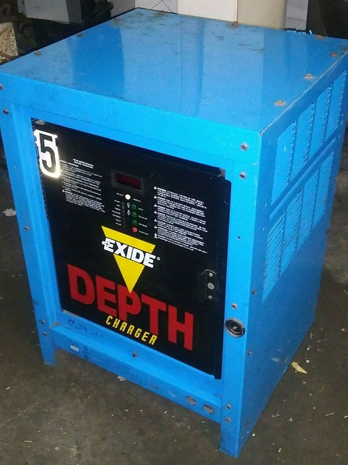 USED EXIDE D1-12-680P FORKLIFT BATTERY CHARGER, 24V, 109AMPS