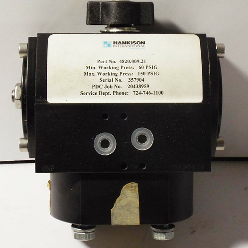 NEW HANKISON 4820.009.21 GRINNELL DOUBLE-ACTING ACTUATOR 60-150 PSIG