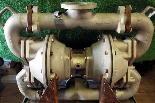 USED SANDPIPER SA3-A AIR POWERED DOUBLE DIAPHRAGM PUMP TYPE DN-7