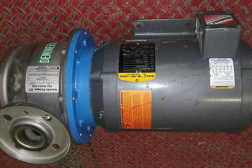 USED GOULDS 799428.1 PUMP W/ BALDOR 7.5HP MOTOR