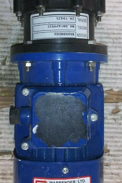 NEW WARRENDER M4.0N1APTT31 PUMP W/ EUROMOTORI 1517-97 MOTOR IP55