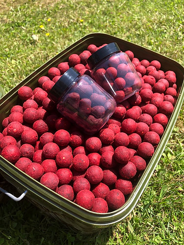 Spicy Red Fish Boilies - 4kg Session Pack